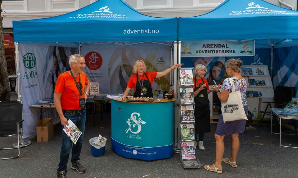 Norra adventistid osalesid olulisel kogukonnalaadal