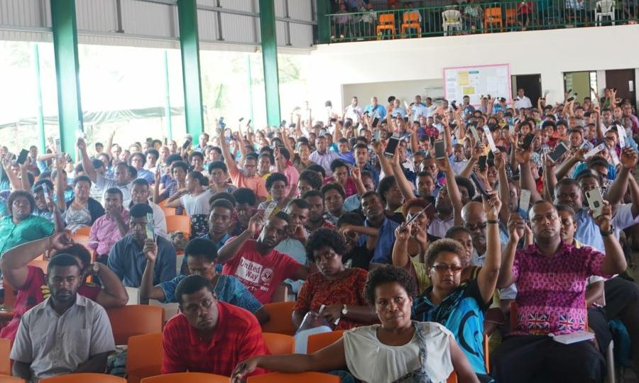 Vaikse ookeani piirkonnas koolitatakse tuhandeid noori evangelismi ja piiblilugemise vallas