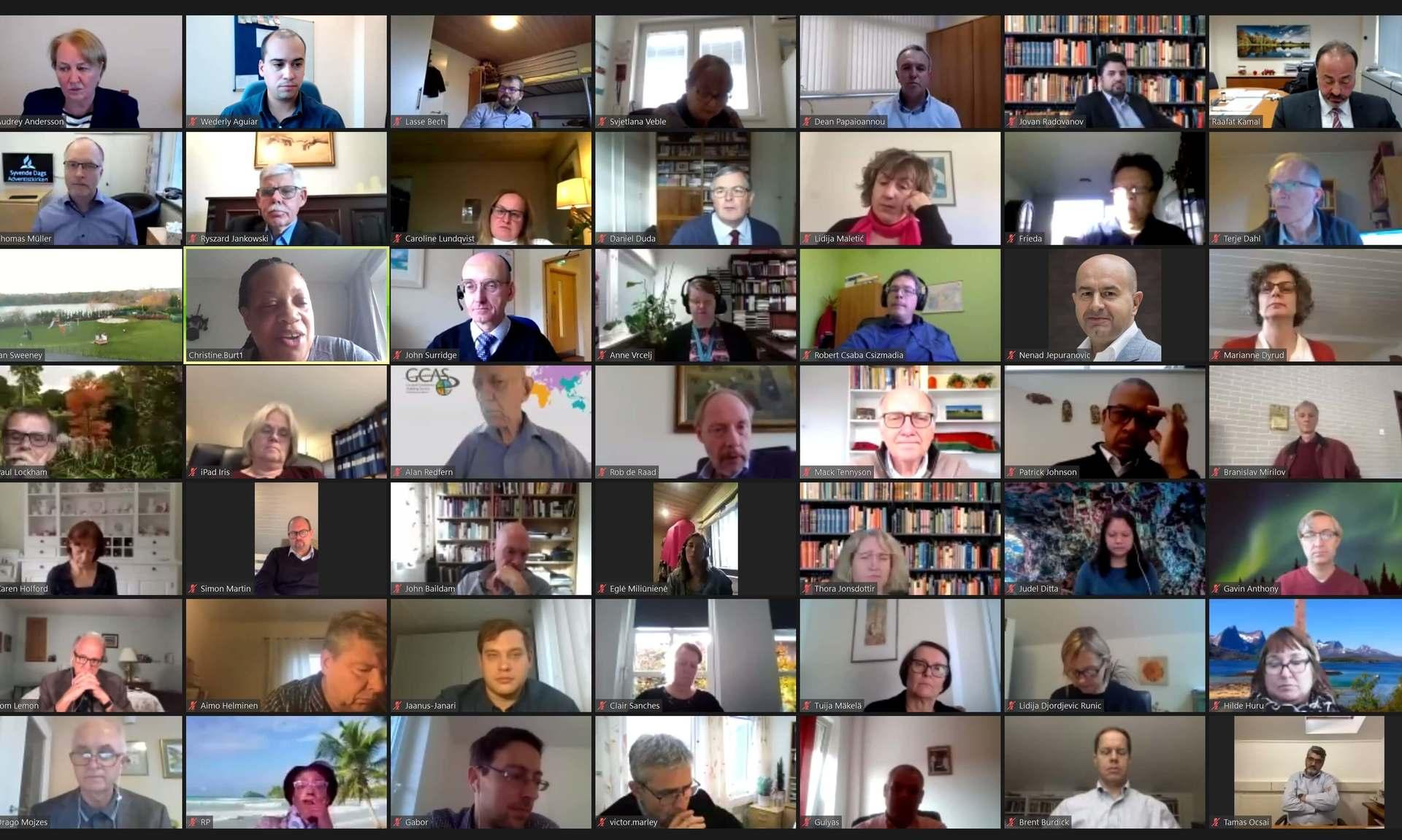 Trans-Euroopa divisjoni aastakoosolek
