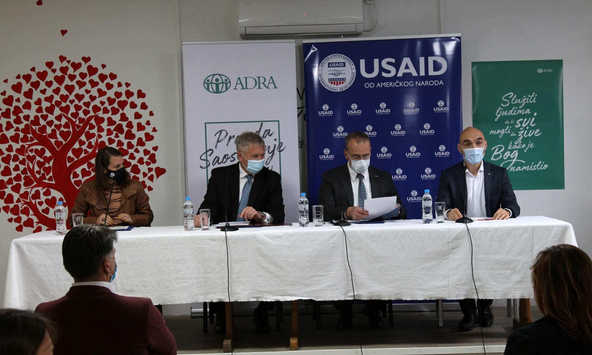 ADRA Serbia haru sai tööks kodututega USAlt tuge