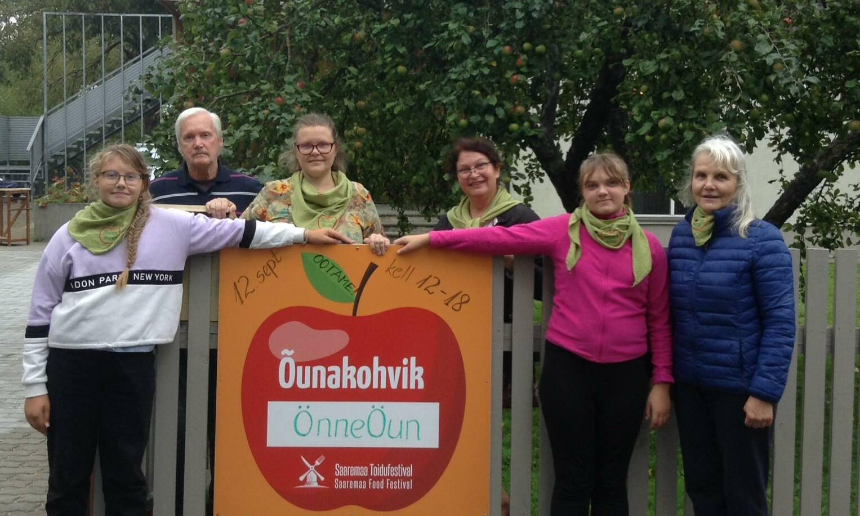 Õunakohvikute päev Kuressaares