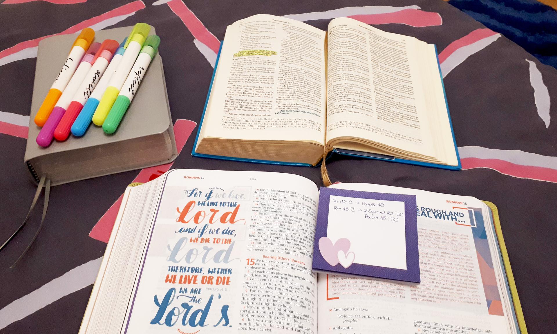 Kuidas lugeda Piiblit?