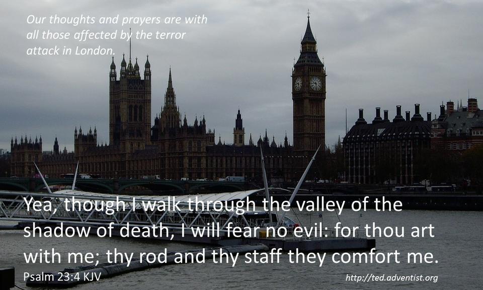 Adventkoguduse vastus Londoni ja Stockholmi terrorirünnakutele